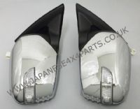 Mitsubishi L200 Pick Up 2.5DID - B40 - KB4T (03/2006-03/2015) - Door Mirror Chrome Electric With Indicator Pair